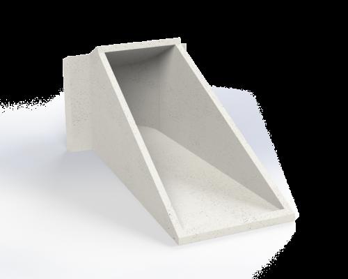 concrete headwall