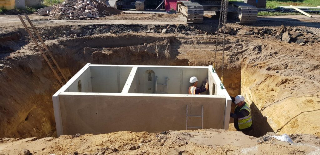 Concrete Soakaway